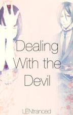 Dealing With the Devil: Sebastian MichaelisxOC [3rd Place (Sebastian) KuroWA'14] by LENtranced