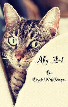 My Art by -CrystalWolfDragon-