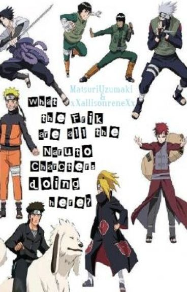 What the frik are all the Naruto Characters doing here?