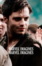 Imagine Marvel •commande fermée• by -scarletwinter