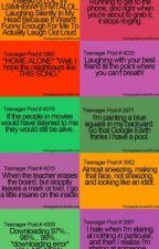Teenage Posts by angelsaharah