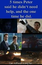 5 times Peter said he didn't need help, and the one time he did. by Nicoforeva
