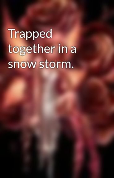 Trapped together in a snow storm. by Bitter_Sun
