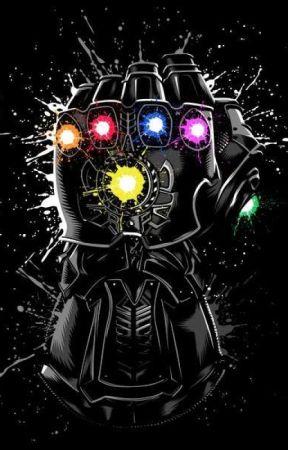 The Infinity Villain: (Y/N)! (My Hero Academia x male Thanos Reader