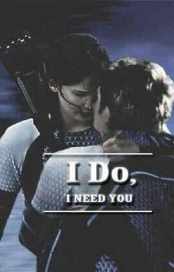 Katniss y Peeta-Te necesito