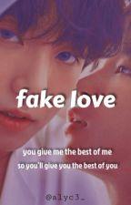fake love • jikook [REESCREVENDO] by alyc3_