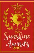 Sunshine Awards 2k18 by sharanyasanilkumar