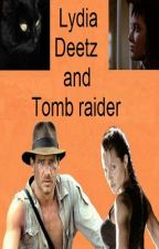 Lydia Deetz and Tomb Raider (completed 3/3) by Captainleon_English