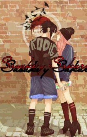 Sasuke y Sakura by Cerezo_Marce
