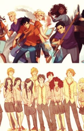 Percy Jackson/Harry Potter Truth or Dare by Percabeth327