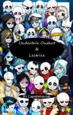 onshot Undertale x lectrice by Lapetitelouciah