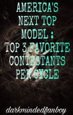 America's Next Top Model (dmf's Top 3 Contestants per Cycle) by darkmindedfanboy