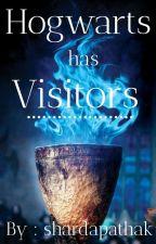 Hogwarts has visitors. by Sharda_02