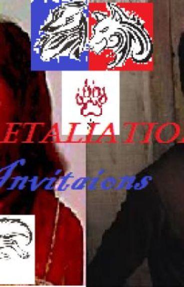 Retaliation Invitations. by Layne1fame