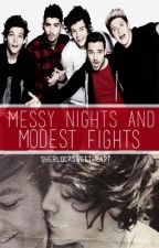 Messy Nights and Modest Fights - Larry Stylinson Short Story by sherlocksweetheart