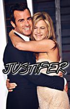 Justifer. - Jen and Justin Theroux by jenanistonfanbase