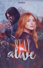 Stay Alive ⇹  Bucky Barnes  by brielax