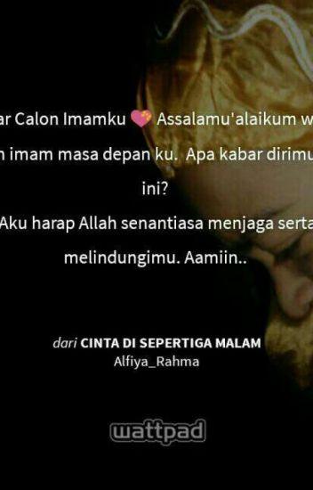 quotes cinta di sepertiga malam rahmafiya wattpad