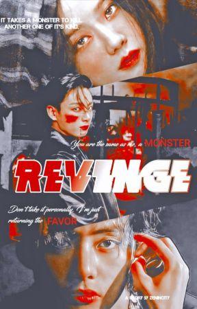 REVENGE | Crime AU |  by _j_ToThe_j_