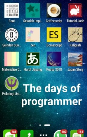 The Days of Programmer by mzaini30