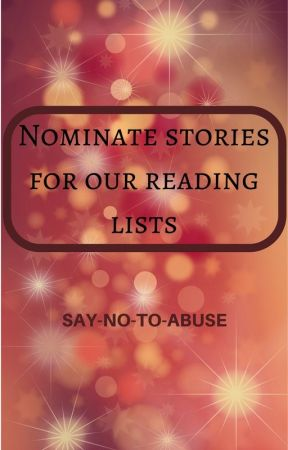 Nominate stories for our reading lists by SayNoToAbuse