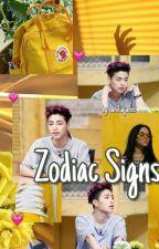 Zodiac Signs  by vanillajunee