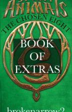 The Chosen Eight; book of extras by brokenarrow2