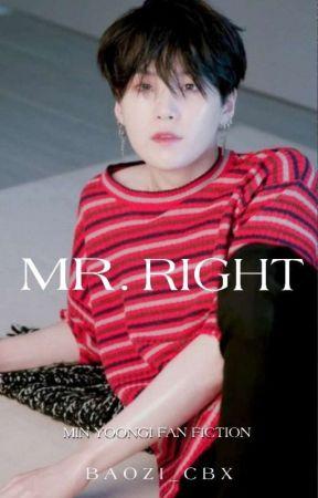 Mr. Right || Min Yoongi by baozi_cbx