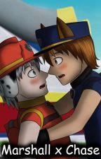 Paw Patrol - Marshall x Chase Comic (Yaoi) by OkumuraJaqueline