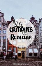 Critiques. by RomaneAndCo
