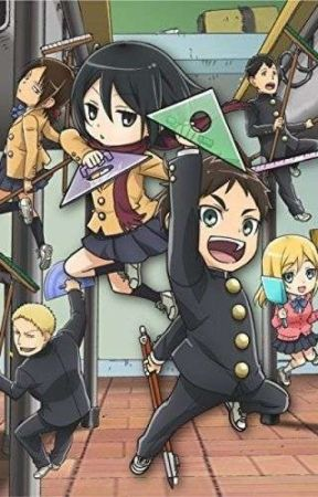 (ON HOLD) A Special Friendship~[Attack On Titan: Junior High Fanfic] by TraitorOfHumanity22
