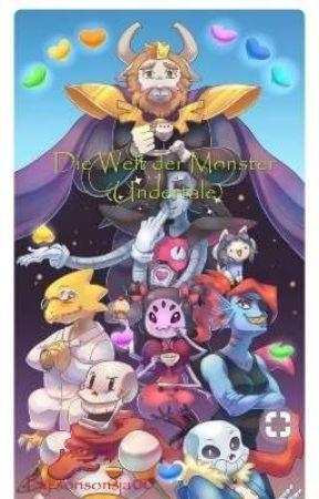 Die Welt der Monster (Undertale) by sonsonsja00