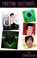 Meeting YouTubers by LunaCreator