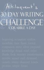 30 Day Writing Challenge by madsymadsy