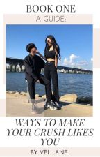 Ways To Make Your Crush Like You√       (Completed) BOOK 1 by Vel_Ane
