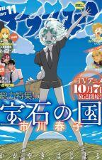 Houseki No Kuni Random Manga Pages by QuentinRosver