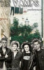 The Vamps preferences by daisychainbrad