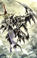 High school dxd :  The Angel and Demon Dragons by AnimeLoverDxD19