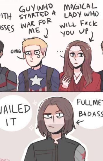 Fullmetal Badass: a.k.a Bucky Barnes