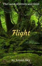 The Land of Green and Gold: Flight by Aennli_Sky