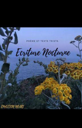 Ecriture Nocturne. by EmotionNoire