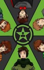 Achievement Hunter X Reader (AH HS) by AH_LilX-Ray