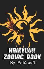 Haikyuu!! Zodiac Book by Ash2oo4
