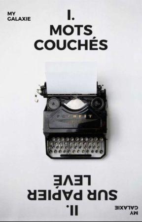 Mots couchés sur papier levé  by MyGalaxie