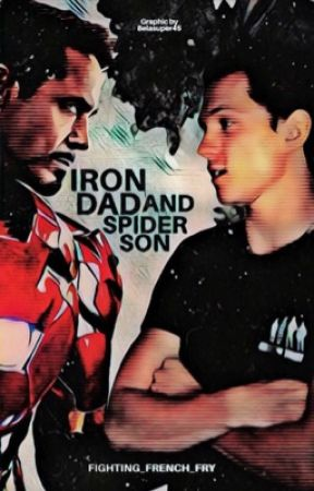 Iron Dad and Spider Son - Peter Parker Protection Squad