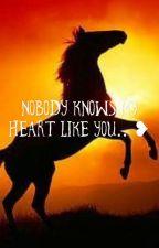 Nobody knows my heart like you..❤️ by Wisteria-artz