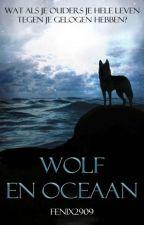 Wolf en Oceaan by fenix2909
