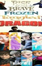 Rise of the Brave Frozen Tangled Dragon by allihoran1d