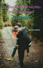 ¿Mi enamorado secreto es mi hermano? by TefiGalvez