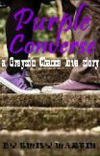Purple Converse by EmilyMartin